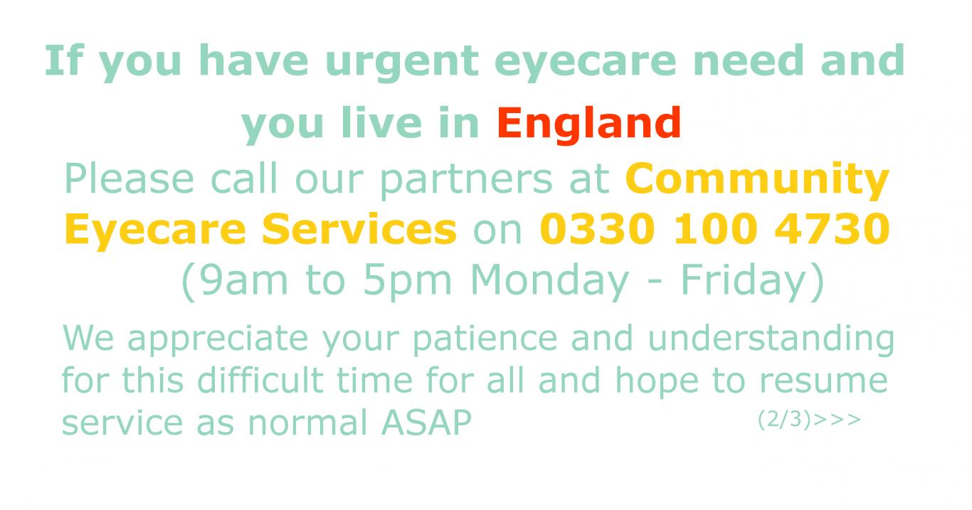 CHEC urgent eyecare